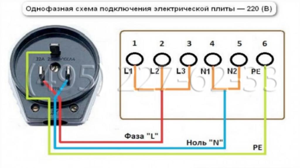 Подключение-электрической-